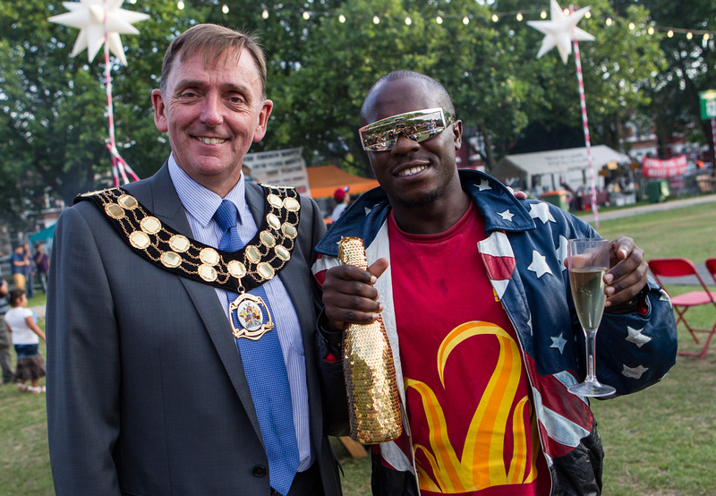 2013 Newham LBN Mayor Sir Robin Wales Under The Stars 16 Aug