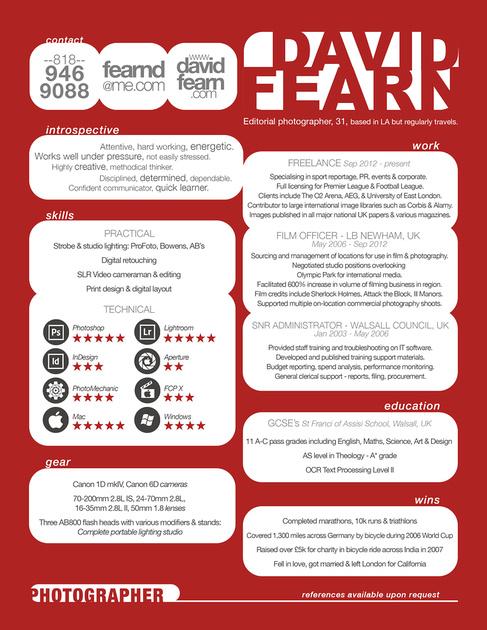 resume David Fearn
